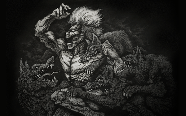 Extreme Detailed Drawing Art Illustrations by Joseph Le