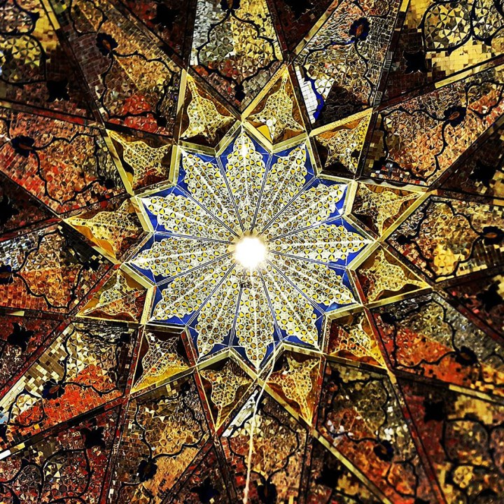 The Hypnotizing Beauty Of Iranian Mosque Ceilings 12