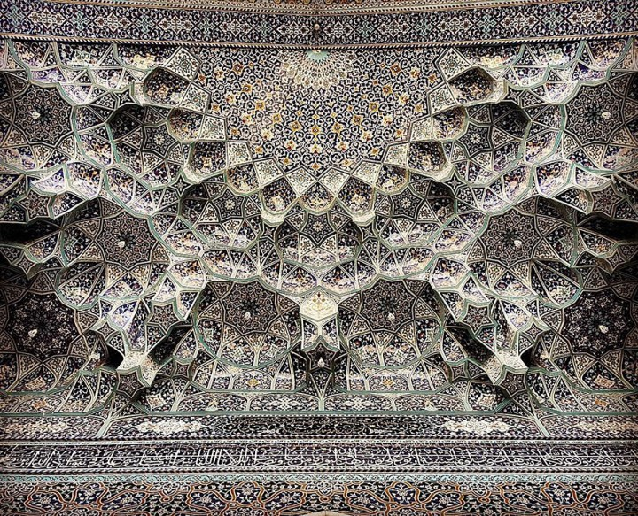 The Hypnotizing Beauty Of Iranian Mosque Ceilings 15
