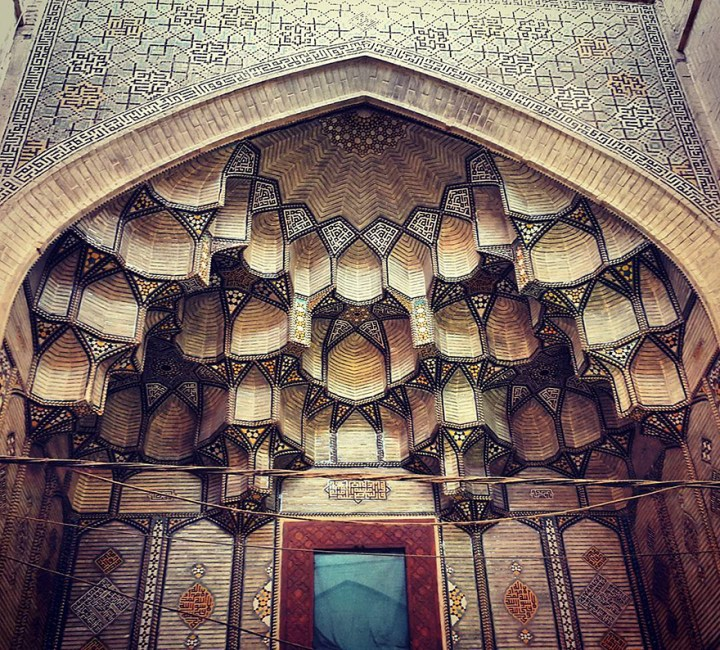 The Hypnotizing Beauty Of Iranian Mosque Ceilings 4