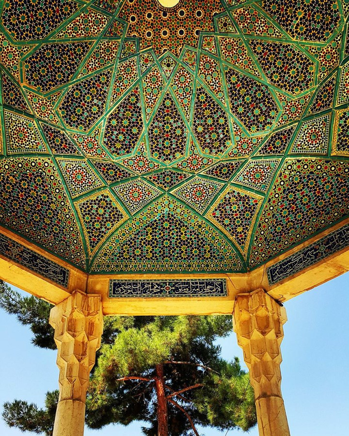 The Hypnotizing Beauty Of Iranian Mosque Ceilings 9