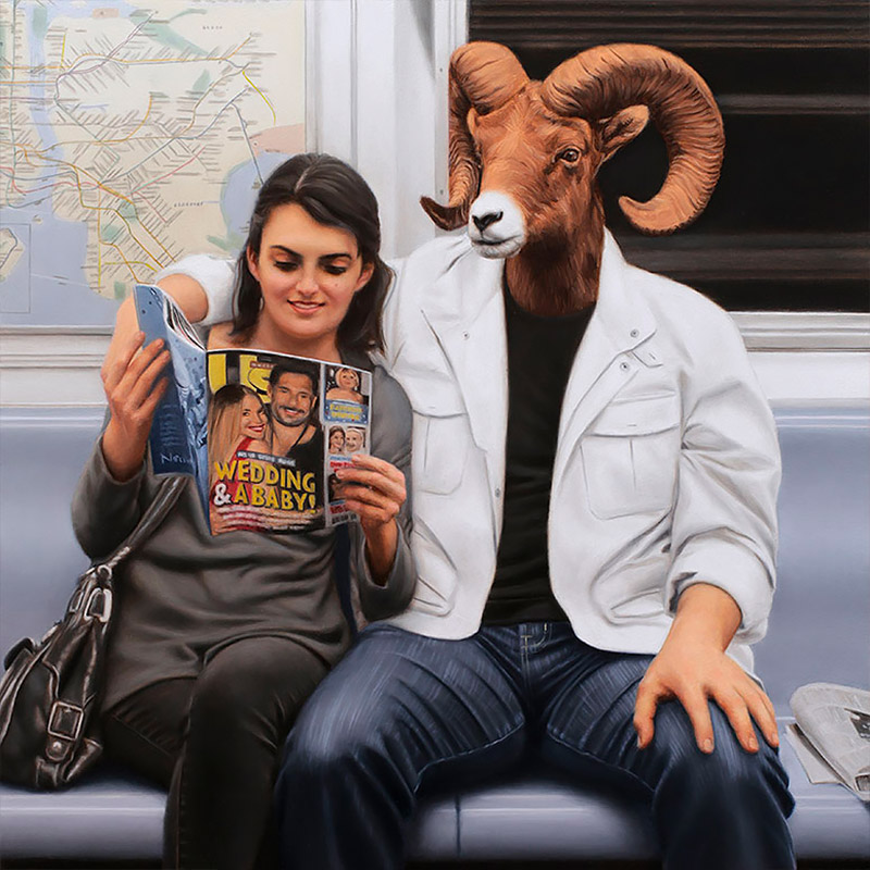 Unique Surreal Painting Artworks by Matthew Grabelsky 03