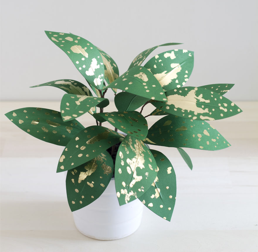 Beautiful Plants from Paper 99
