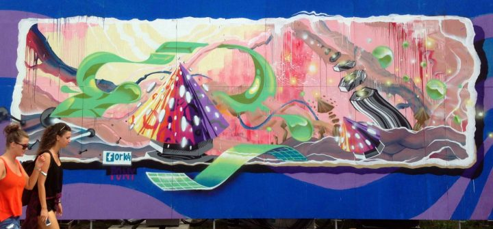 Creative Street Art and Graffiti Designs by Fork4 99