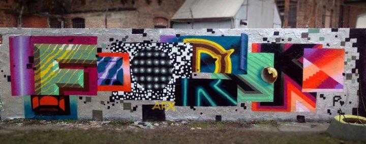 Wonderful Street Art and Graffiti Designs by Fork4 01