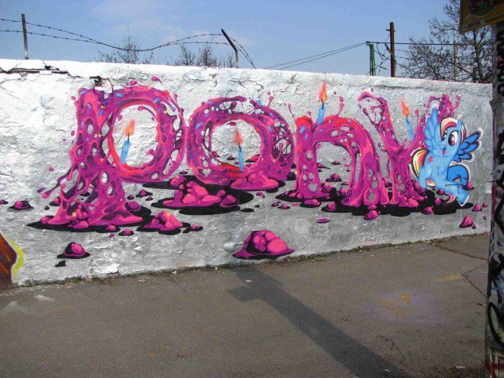 Wonderful Street Art and Graffiti Designs by Fork4 03