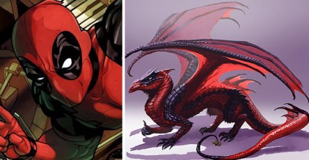Redesign Popular Marvel Comics Characters As Dragons