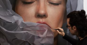 Detailed Realistic Paintings By Mike Dargas 99