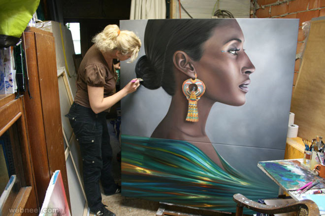 Hyper Realistic Oil Paintings by Christiane Vleugels 99