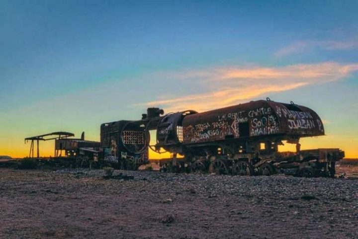 Wonderful Cemetery of Abandoned Trains in Bolivia by Chris Staring