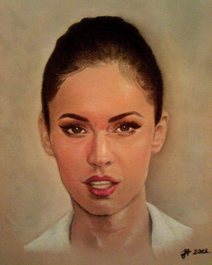 Beautiful Portrait Paintings by Aleksandra Janekovic Sribar 9