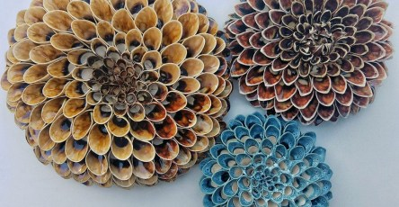 Beautiful Handmade Ceramic Blooms and Succulents by Owen Mann