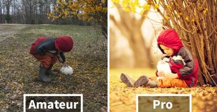 Amateur Vs. Pro: How Photographers Change Boring Scenes Into Perfect Shots