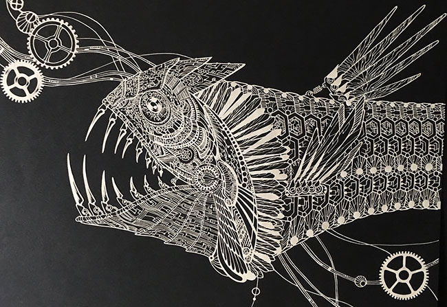 Inique Paper Cuts Art Ideas