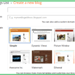 How To Create A Free Blog On Google BlogSpot