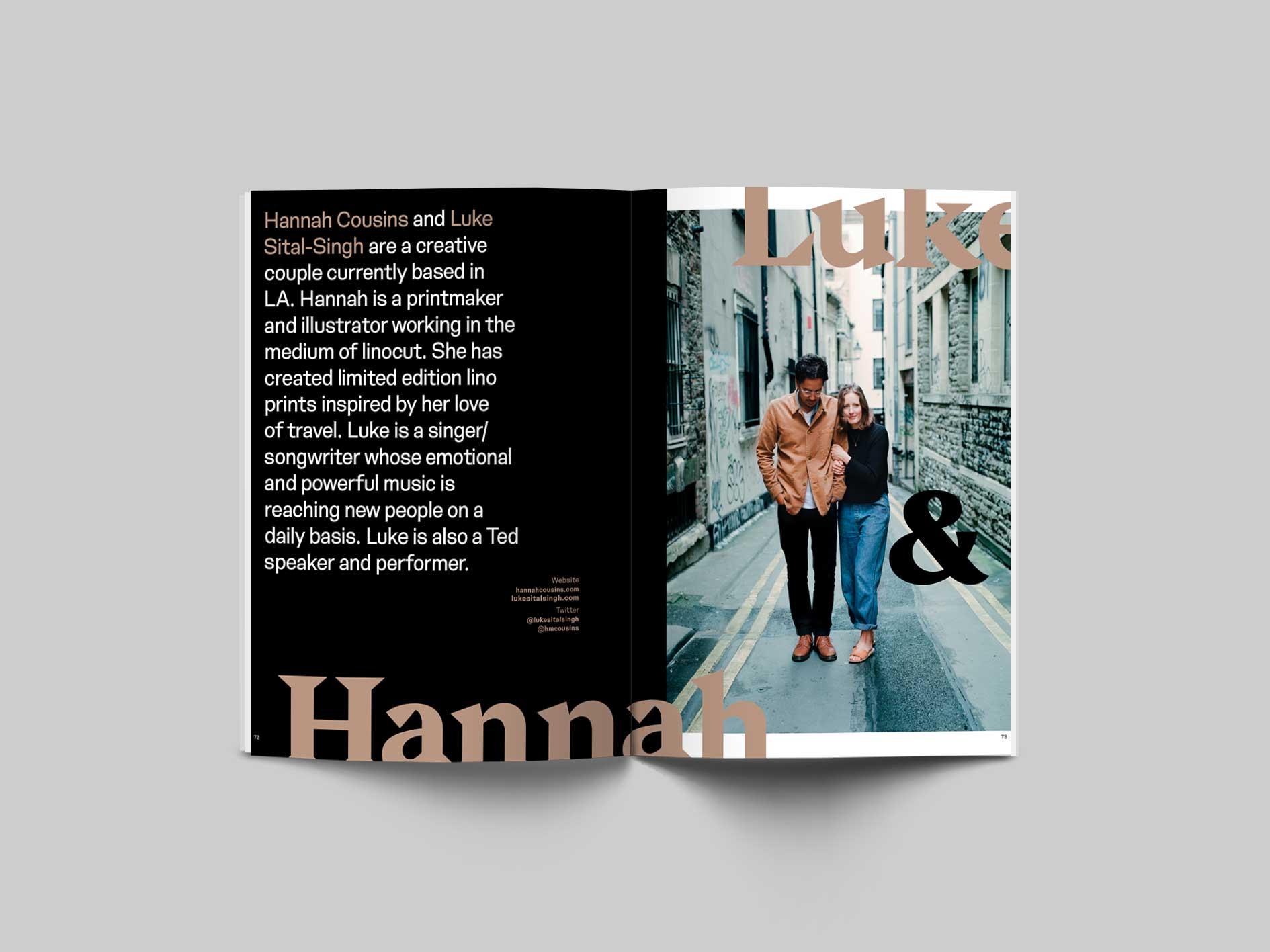 Volume 4 of 99 Percent Lifestyle Magazine
