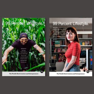 Small Magazine Bundle - 99 Percent Lifestyle
