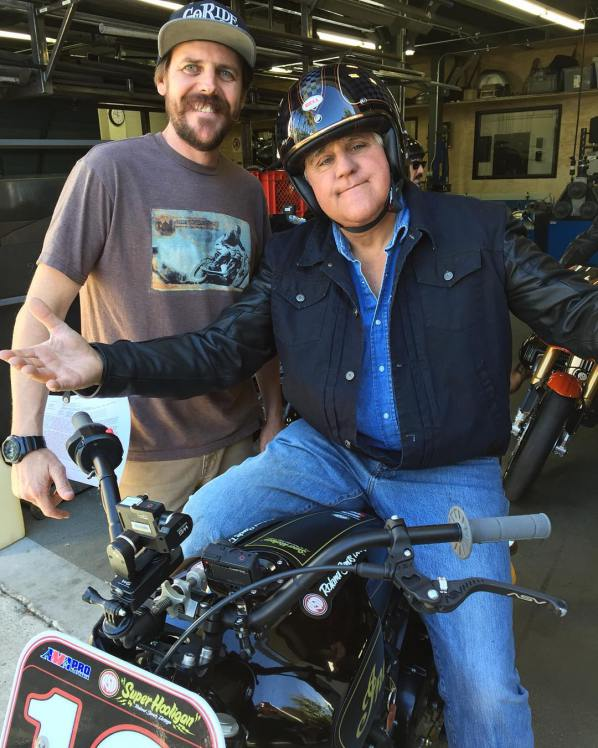 Cam Brewer & Jay Leno