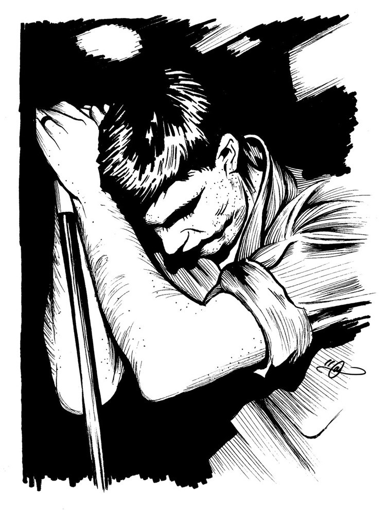 Ian Curtis By Adi Gilbert