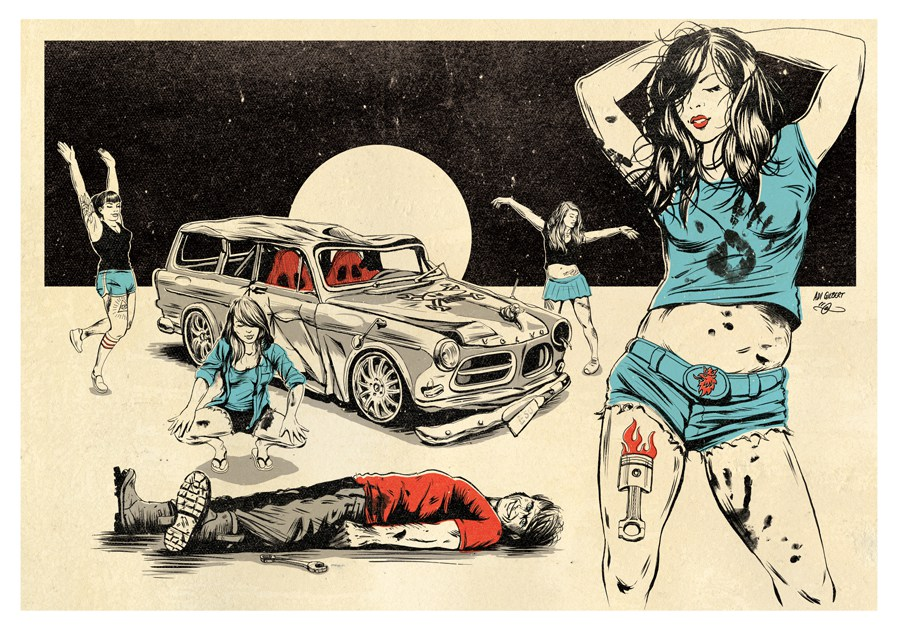 Guy Martin - Deathproof - by Adi Gilbert