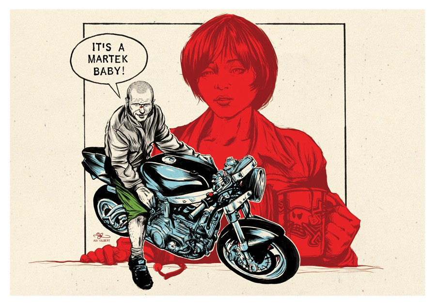 Guy Martin - Pulp fiction - by Adi Gilbert