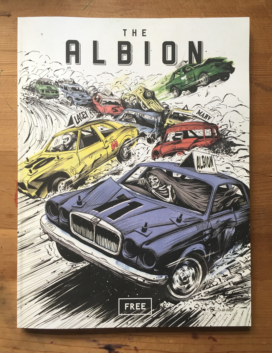 Bangers by Adi Gilbert. The Albion #11