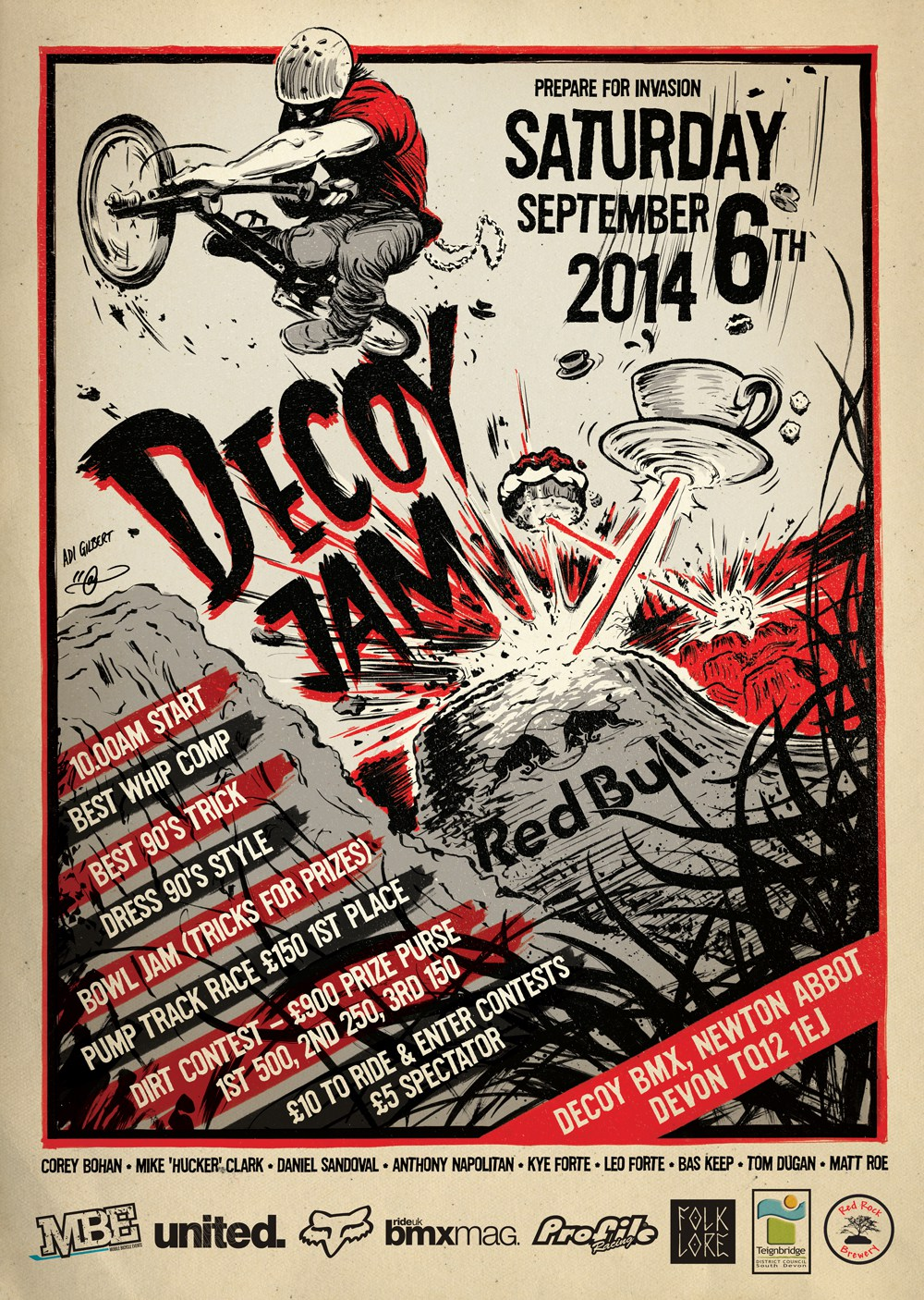 Decoy Trails Jam 2014