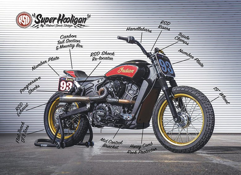 Indian Scout Super Hooligan by RSD