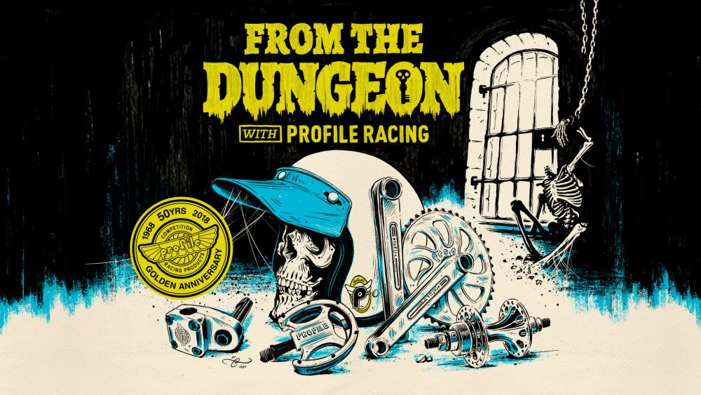From the Dungeon with Profile Racing - Illustration By Adi Gilbert