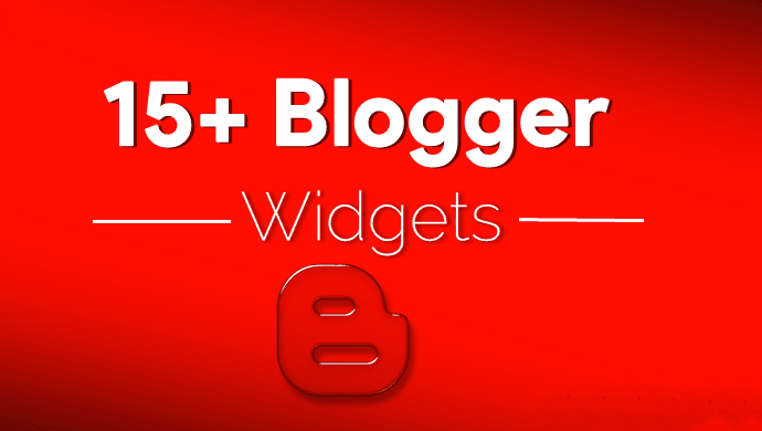most useful blogger widget