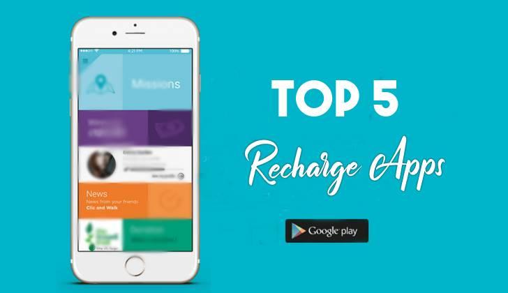 Top 5 Paisa kamane Wale Recharge Apps 2019
