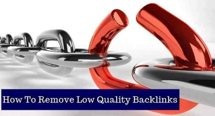 remove bad backlink
