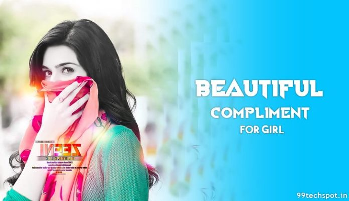 Beautiful compliment for girl