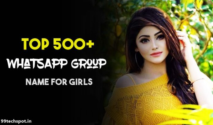 best whatsapp group names for girls