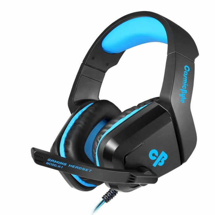 cosmic byte h1 wired headset with mic