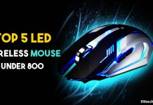 best led wireless mouse under 800