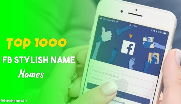 1000+ Top Facebook Stylish Names 2020