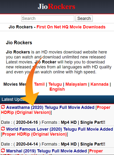 jio phone movie download