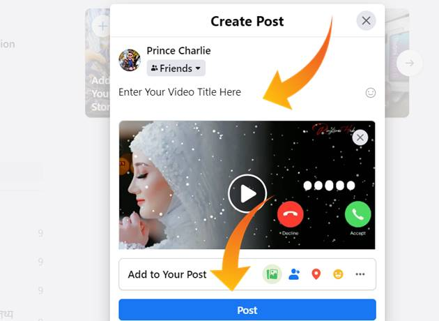 facebook par video kaise upload kare
