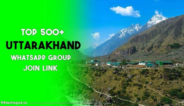 500+ Uttarakhand Whatsapp Group Link 2021
