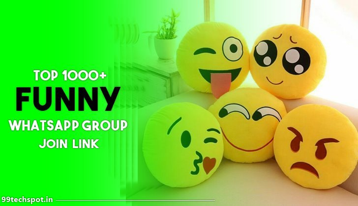 500+ Best  Funny Whatsapp Group Links 2021