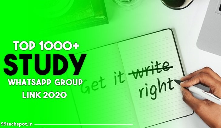 1000+ Best Study Whatsapp Group Links 2021