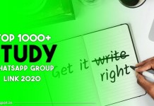 study whatsapp group link