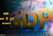 GDP kya hai GDP FUll Form In Hindi
