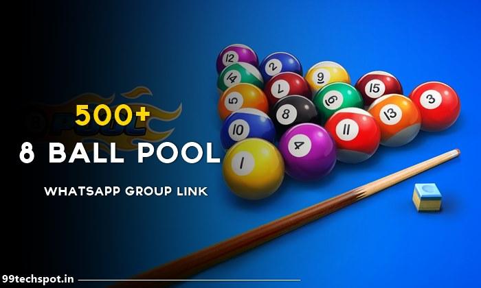 8 ball pool whatsapp group link india 2021