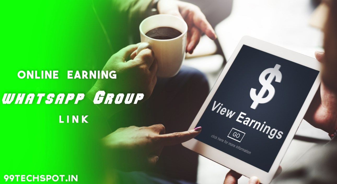 online earning whatsapp group link