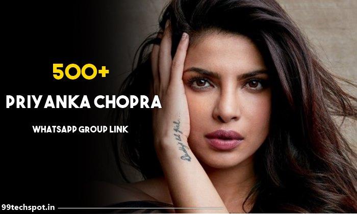 500+ Priyanka chopra whatsApp group link