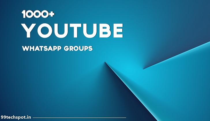 1000+ Youtube Whatsapp Group Link 2021