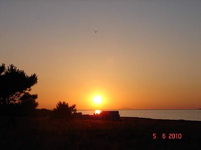 Sunset at Vir island - Adriatic Coast, Croatia