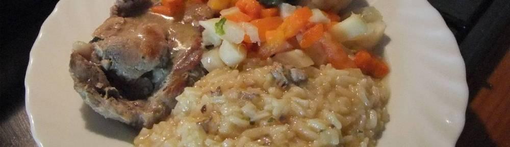 Svinjska vratina s rizom i povrcem (2)